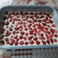 Сладкиш с ягоди и шоколад