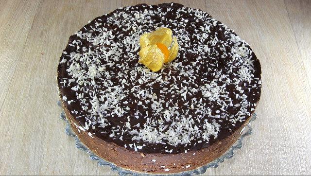 Бисквитена торта Гараш