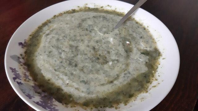 Крем супа от коприва и праз