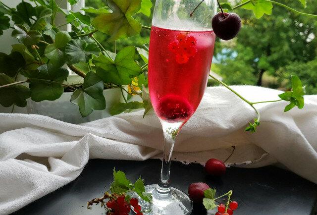 Червено шампанско