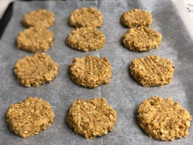 Крекери от овесени ядки